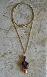 Re-Design Collection: Gold Double Wrap Long Necklace